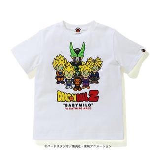 アベイシングエイプ(A BATHING APE)の【 BAPE X DRAGON BALL Z 】 130(Tシャツ/カットソー)