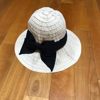 ジーユー(GU)の帽子(麦わら帽子/ストローハット)