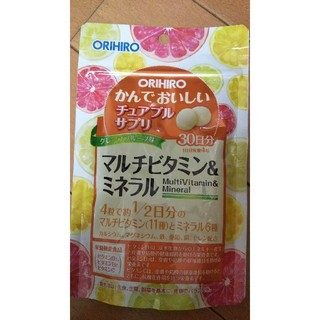 オリヒロ(ORIHIRO)のマルチビタミン&ミネラル オリヒロ(ビタミン)