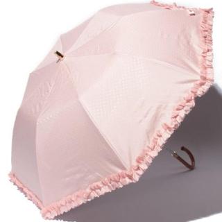 ランバンオンブルー(LANVIN en Bleu)の完売 人気商品 ランバン 日傘 ピンク レース リボン かわいい(傘)