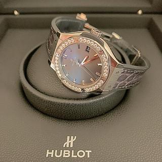 ウブロ(HUBLOT)のウブロ ❗️銀座正規店購入❗️付属品全て付きます❗️超美品❗️(腕時計)