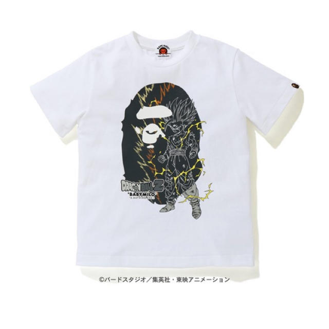 A BATHING APE(アベイシングエイプ)のT-SHIRT 【 BAPE X DRAGON BALL Z 】140 キッズ/ベビー/マタニティのキッズ服男の子用(90cm~)(Tシャツ/カットソー)の商品写真