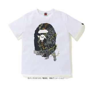 アベイシングエイプ(A BATHING APE)のT-SHIRT 【 BAPE X DRAGON BALL Z 】140(Tシャツ/カットソー)