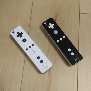 ウィー(Wii)のwiiリモコン 2本セット(家庭用ゲーム機本体)