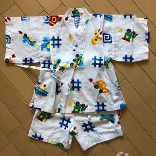 ミキハウス(mikihouse)のmikihouse 男児甚平 100cm(甚平/浴衣)