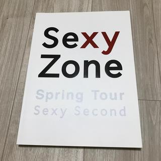 セクシー ゾーン(Sexy Zone)のセクゾ パンフレット sexy  second セクセカ (アイドルグッズ)