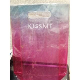 キスミーコスメチックス(Kiss Me)のキスミー 伊勢半 キスミー クリアバッグ  ビニールバッグ(ハンドバッグ)