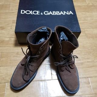 ドルチェアンドガッバーナ(DOLCE&GABBANA)のDOLCE&GABBANA ドルガバブーツ サイズ8(ブーツ)