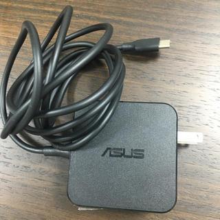エイスース(ASUS)の【中古】ASUS ACアダプター ADP-45EW A(USB type-c)(PC周辺機器)