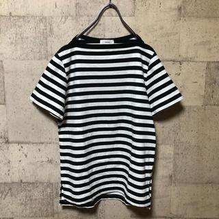 ハイク(HYKE)のHYKE ボーダーTシャツ サイズ2(Tシャツ(半袖/袖なし))
