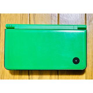 ニンテンドーDS(ニンテンドーDS)のニンテンドーDSi LL 本体 グリーン(携帯用ゲーム機本体)