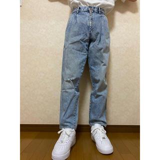 vintage high-waist tapered denim(デニム/ジーンズ)