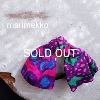 マリメッコ(marimekko)の[marimekko] handmade マリメッコ ハンドメイド廃盤柄(ヘアアクセサリー)