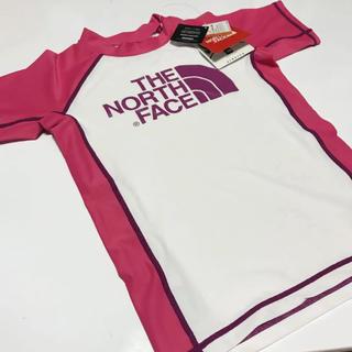 ザノースフェイス(THE NORTH FACE)の新品 ノースフェイス ラッシュガード 130(水着)