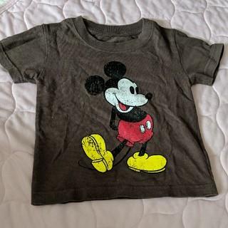 エックスガール(X-girl)のx-girl ミッキー Tシャツ 90サイズ(Tシャツ/カットソー)