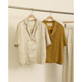 トゥデイフル(TODAYFUL)のTODAYFUL  Crepe Satin Shirts(シャツ/ブラウス(半袖/袖なし))
