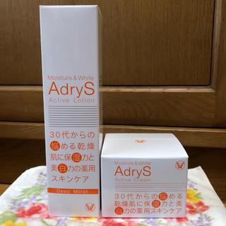 タイショウセイヤク(大正製薬)のAdryS アドライズ アクティブローションディープモイスト、アクティブクリーム(化粧水/ローション)