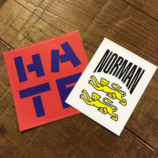 ジービー(GB)のNORMAN Sticker 2pcs Set(その他)