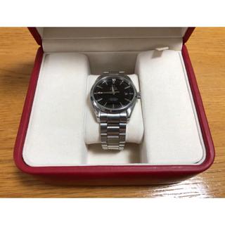 オメガ(OMEGA)の美品 オメガ OMEGA コーアクシャル シーマスター アクアテラ (腕時計(アナログ))