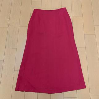 シビラ(Sybilla)のシビラ 赤 スカート(ロングスカート)