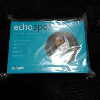 エコー(ECHO)の2つセット Amazon echo spot エコースポット 新品未開封(スピーカー)