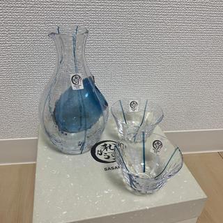 トウヨウササキガラス(東洋佐々木ガラス)の新品未使用 東洋佐々木ガラス 冷酒器 冷酒グラス(アルコールグッズ)