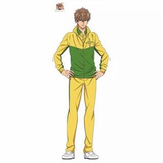 コナミ(KONAMI)の【未開封、美品】テニスの王子様 忍足謙也 等身大タペストリー(キャラクターグッズ)