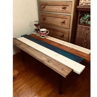 折りたたみ式アンティーク木目調ローテーブル 持ち運び便利☆(ローテーブル)