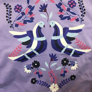 アナスイ(ANNA SUI)の新品激安アナスイANNA SUIレディースTシャツL春夏秋鳥バード半袖ユニクロ(Tシャツ(半袖/袖なし))