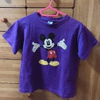 ミッキーマウス(ミッキーマウス)のミッキーマウス スパンコールTシャツ ディズニー(Tシャツ(半袖/袖なし))