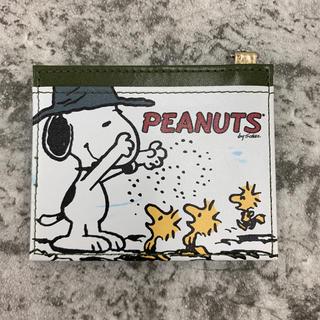 ピーナッツ(PEANUTS)のSNOOPY   スヌーピー  パスケース  定期券入れ  カードケース (パスケース/IDカードホルダー)