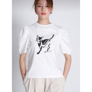 フォクシー(FOXEY)のセルフォード コラボプリントTシャツ(Tシャツ(半袖/袖なし))