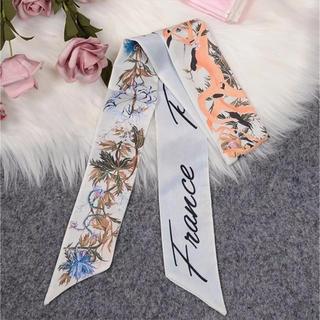 アメリヴィンテージ(Ameri VINTAGE)の週末セール中 新品 インポート シルクスカーフ(バンダナ/スカーフ)