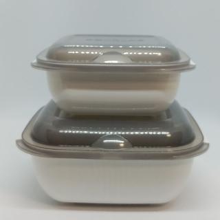 新品未使用【グルラボ/GOURLAB】マルチクッキングカプセル 大小セット♪(容器)