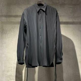 マルタンマルジェラ(Maison Martin Margiela)のトワロニエ Toironier プリーツ シャツ 20ss(シャツ)