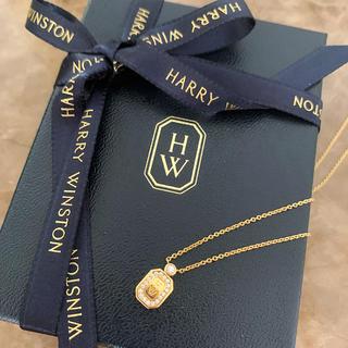 ハリーウィンストン(HARRY WINSTON)の完売商品❗️ ロゴネックレス❗️ハリーウィンストン❗️銀座正規店購入❗️箱付き(ネックレス)