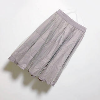 ミスティウーマン(mysty woman)のmysty woman♡チュールスカート(ひざ丈スカート)
