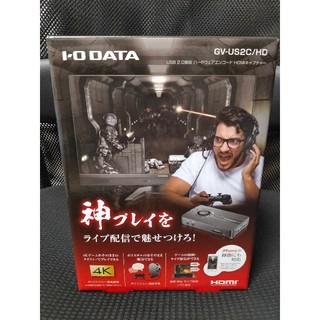アイオーデータ(IODATA)のI-O DATA HDMI キャプチャーボード  GV-US2C/HD(PC周辺機器)