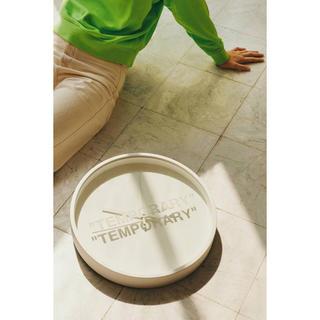オフホワイト(OFF-WHITE)のIKEA virgil MARKERAD TEMPORARY 壁掛け 新品未使用(掛時計/柱時計)