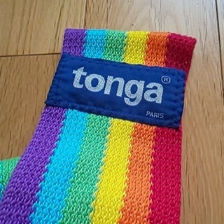 トンガ(tonga)のおはな様売約済み 抱っこひも(抱っこひも/おんぶひも)