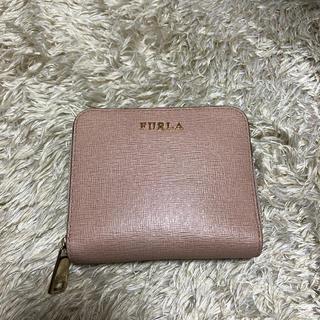 フルラ(Furla)のFURLA 二つ折り ミニ財布 ピンク(折り財布)