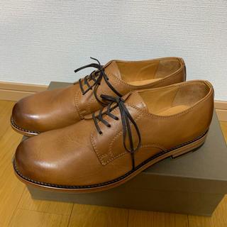 PADRONE - 新品未使用 PADRONE パドローネ 牛革 革靴 42サイズ ベージュ