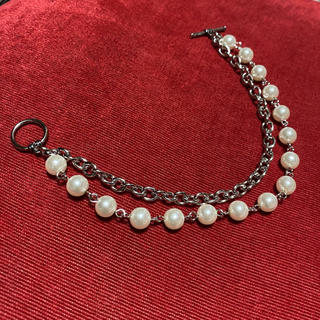 Perl layered bracelet  パール チェーン(ブレスレット)