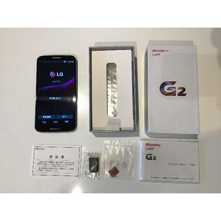 エルジーエレクトロニクス(LG Electronics)のLGエレクトロニクス G2 L-01F docomo★未使用(スマートフォン本体)