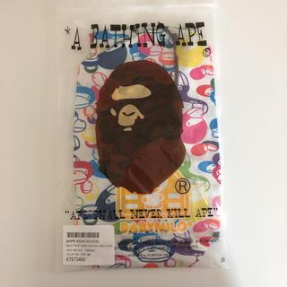 アベイシングエイプ(A BATHING APE)のMILO FACE CAMO SCHOOL BAG COVER(レインコート)