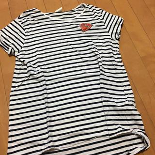 ザラ(ZARA)のZARA ボーダーTシャツ 164 ⭐︎美品(Tシャツ/カットソー)