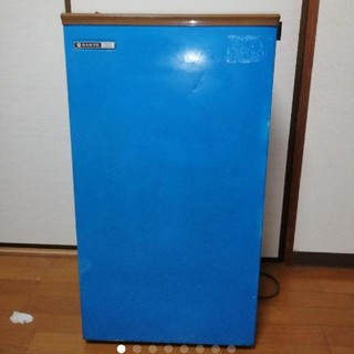 サンヨー(SANYO)のサンヨー小型冷凍ストッカー(冷蔵庫)