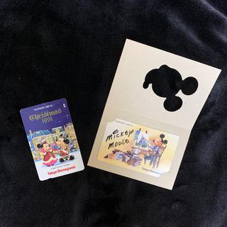 ディズニー(Disney)の50度テレカ ディズニー 2枚セット(その他)