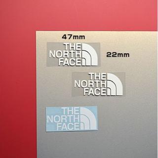 ザノースフェイス(THE NORTH FACE)の【デカールオマケ】THE NORTH FACEっぽい  アイロンプリントシート (各種パーツ)