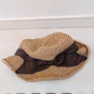 スタディオクリップ(STUDIO CLIP)のスタディオクリップ折りたたみ帽子(麦わら帽子/ストローハット)
